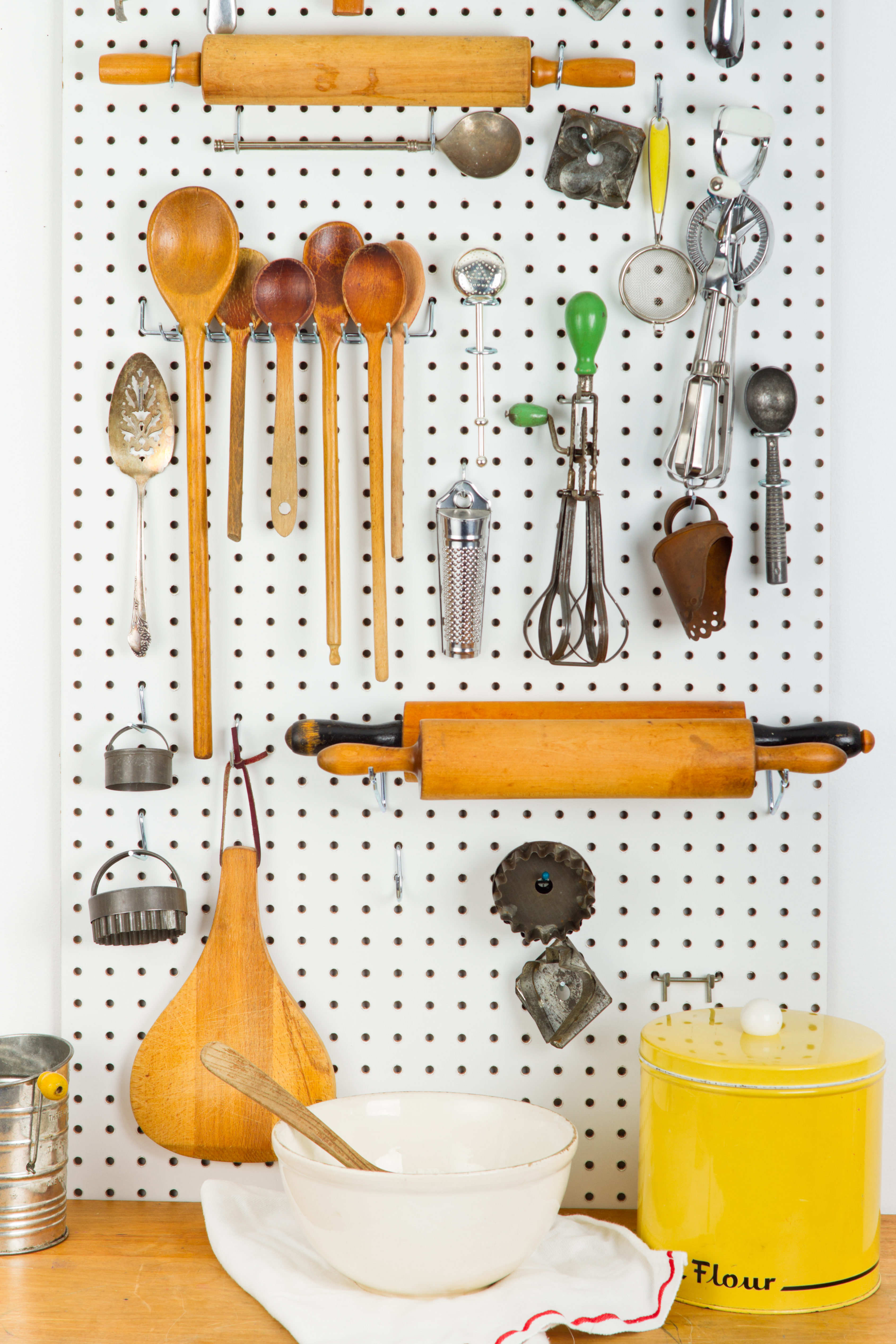 Pegboard Filled with Old Cooking Gadgets In front of a counter with baking supplies [url=file_closeup.php?id=16849646][img]file_thumbview_approve.php?size=1&id=16849646[/img][/url] [url=file_closeup.php?id=16845553][img]file_thumbview_approve.php?size=1&id=16845553[/img][/url] [url=file_closeup.php?id=16845544][img]file_thumbview_approve.php?size=1&id=16845544[/img][/url] [url=file_closeup.php?id=16845467][img]file_thumbview_approve.php?size=1&id=16845467[/img][/url] [url=file_closeup.php?id=16849580][img]file_thumbview_approve.php?size=1&id=16849580[/img][/url]