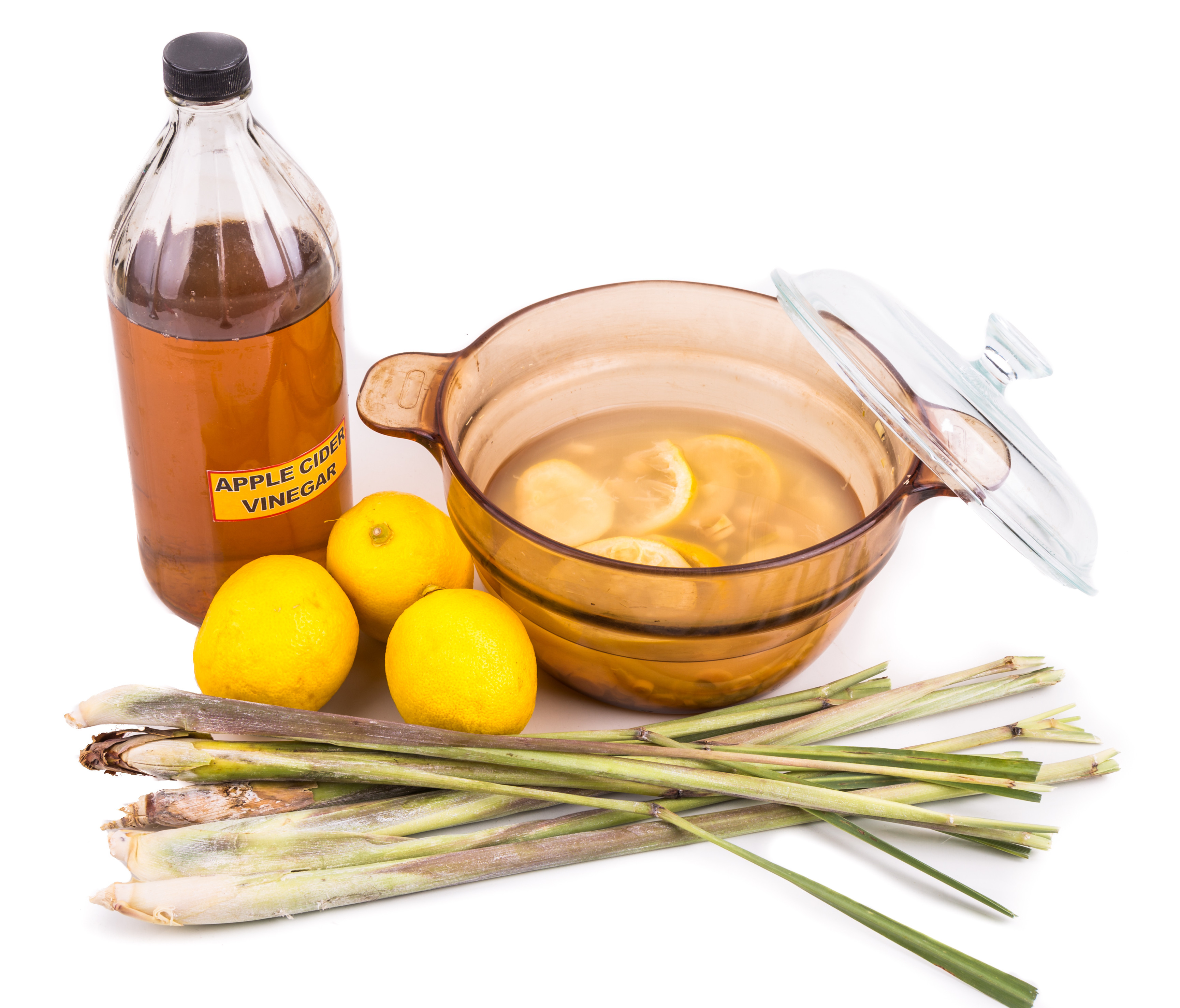 Apple cider vinegar, lemon and lemongrass home remedy, safe and effective formula to repel mosquito, fleas and bugs. It can be used to repel fleas from pets, and is can neutralize unpleasant odor from dogs.