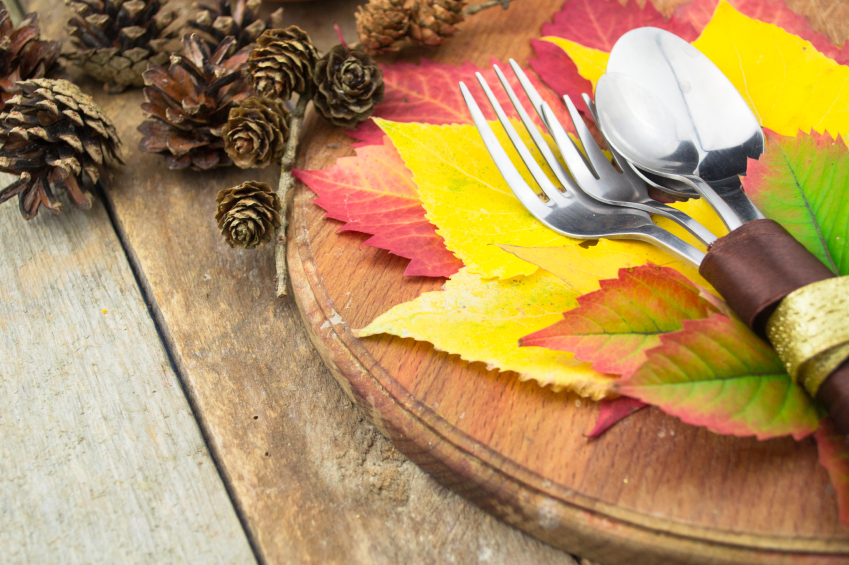 stylish thanksgiving table settings