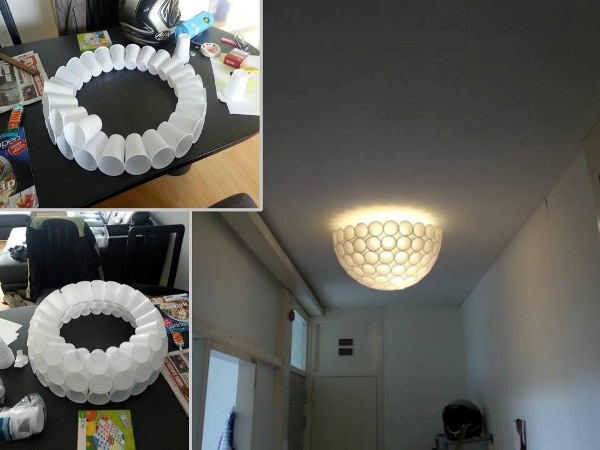 cup lamp